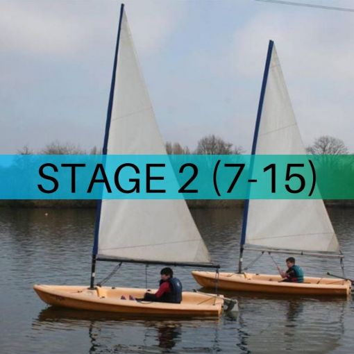 Image of RYA Sailing Course - Stage 2 (7-15)
